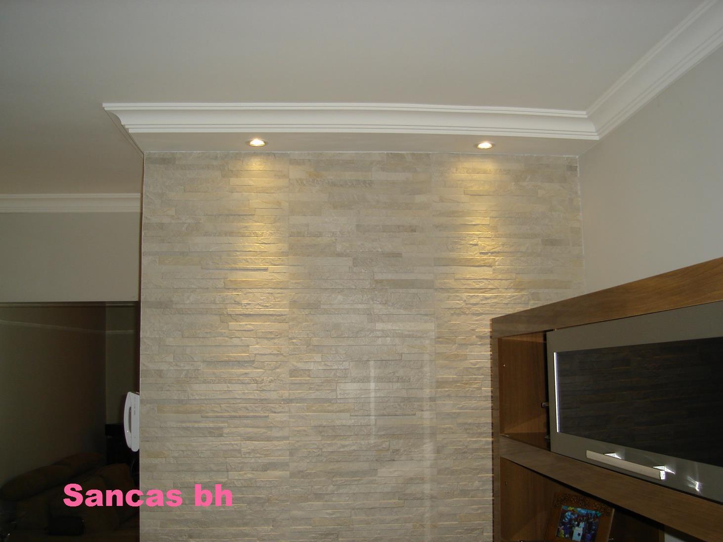 Sancas Bh -> Sancas De Gesso Para Sala Fotos
